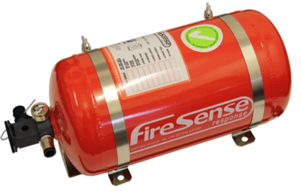 onboard fire suppression system